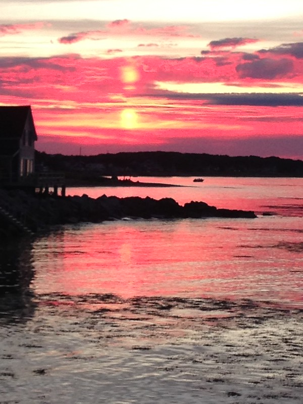 Maine sunset
