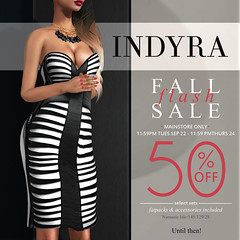 {Indyra} 2 Day Fall Flash Sale Teaser - Wed&Thurs