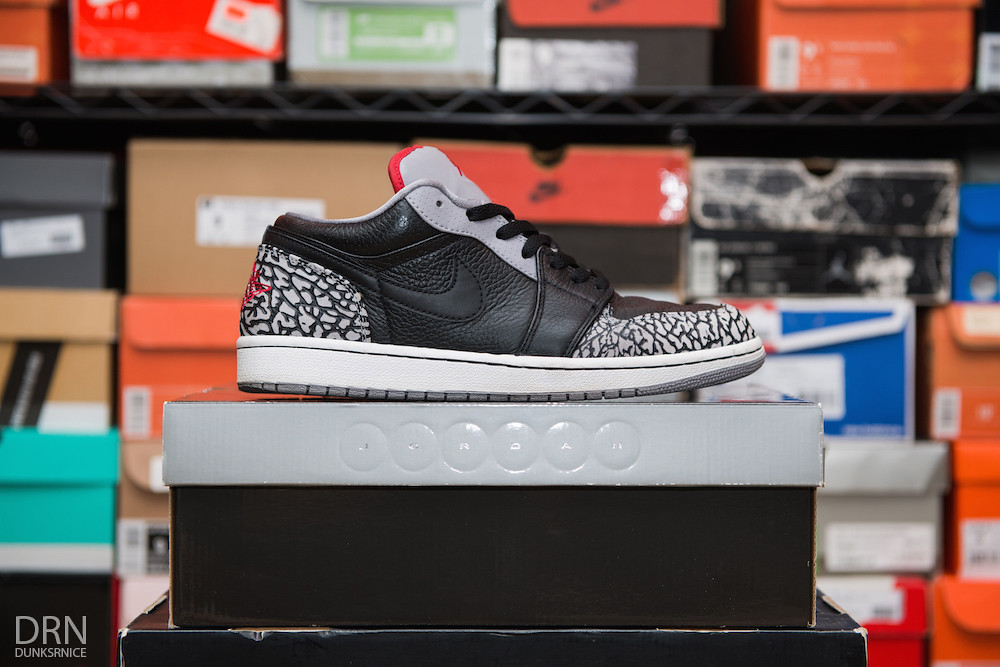 2008 Black Cement Phat Low I's.