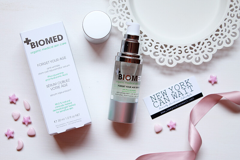 Biomed: Organic Medical Skincare. Forget your age serum