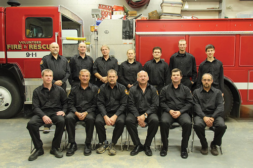 Cowichan Valley firefighters 2015