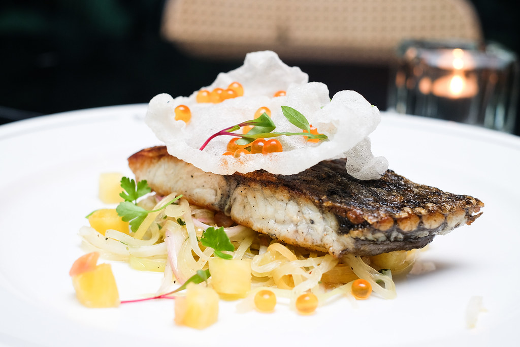 The Black Swan's Pan Roasted Barramundi