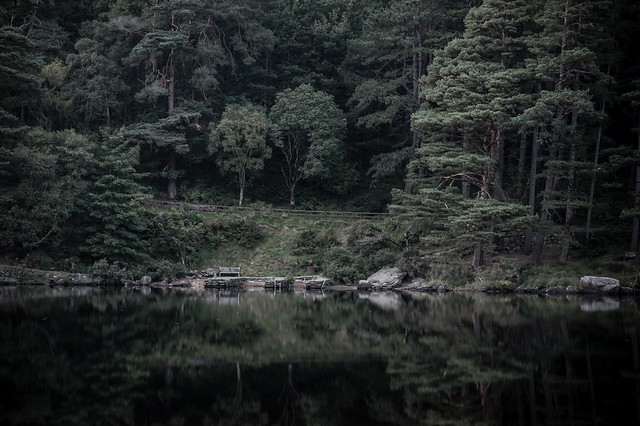 Glendalough Upper Lake, Wicklow, Ireland