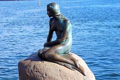 The Little Mermaid statue by Edvard Eriksen