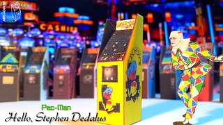 Hello Stephen Dedalus - Pac-Man