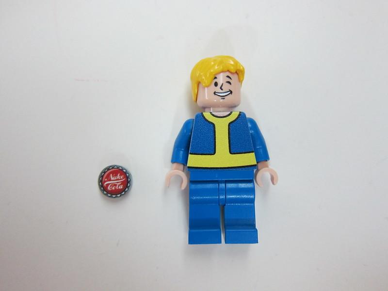 Fallout's Vault Boy Minifigure - Front