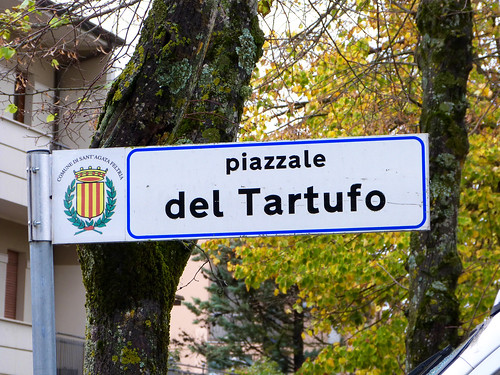 Piazzale del Tartufo, Sant'Agata Feltria