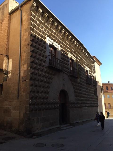 Casa de los Picos / The House of Spades, Segovia, Spain