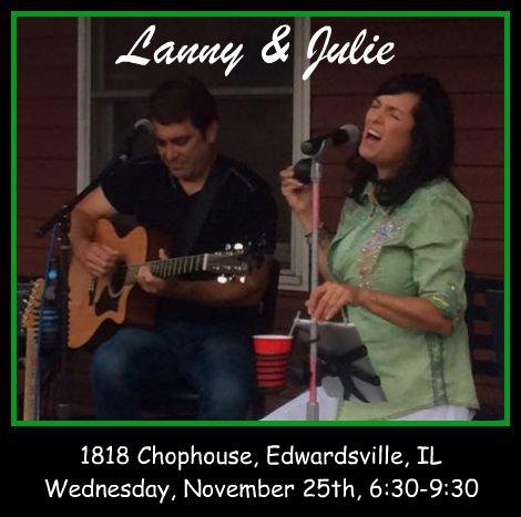 Lanny & Julie 11-25-15