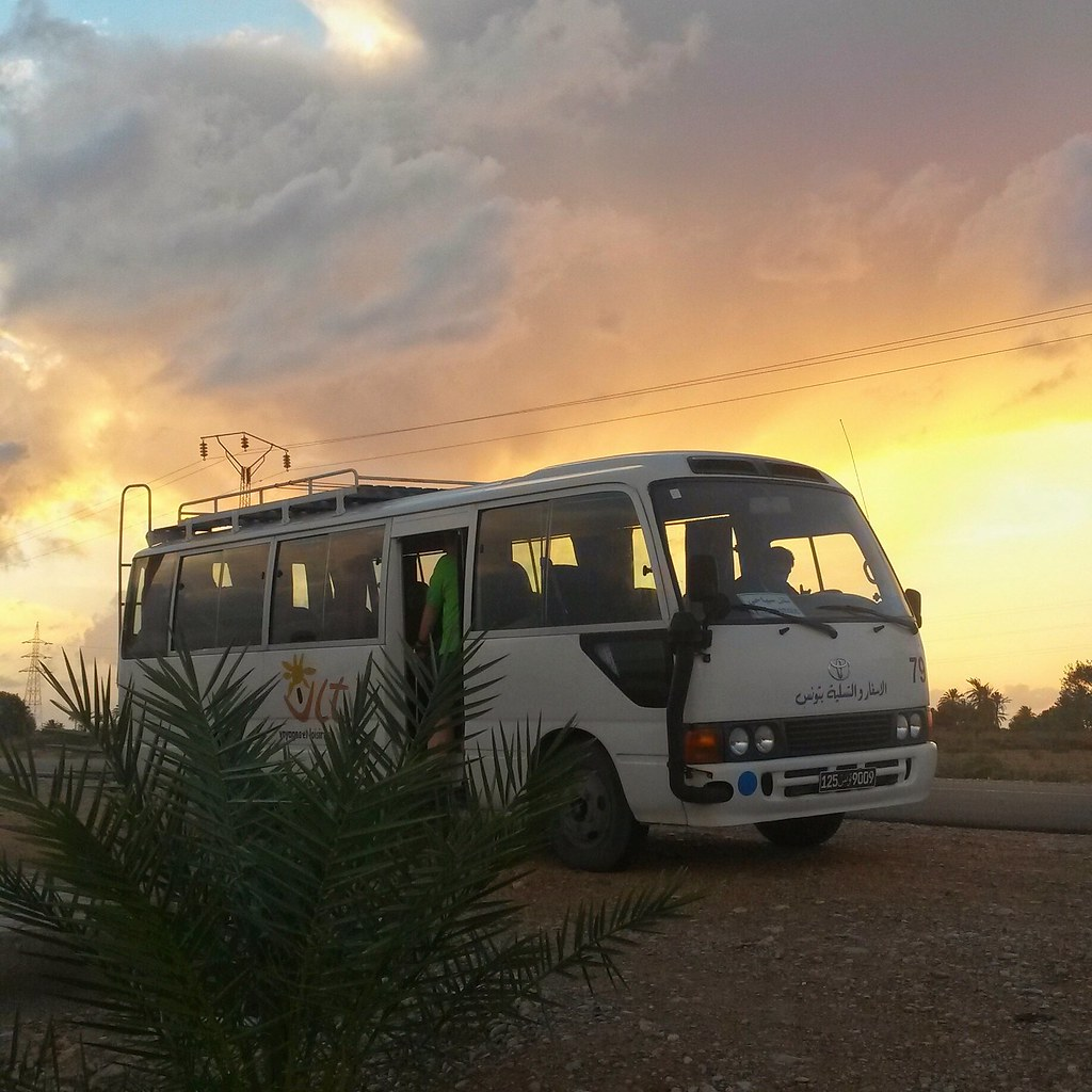 Coworking Camp on a road trip, Djerba Tunisia