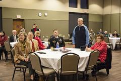 Chancellor's Veteran Reception, Phoenix Room, November 11, 2015