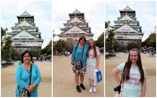 Portraits at Osaka Castle