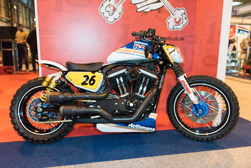 Motorcyclelive at the NEC Birmingham UK 2015.