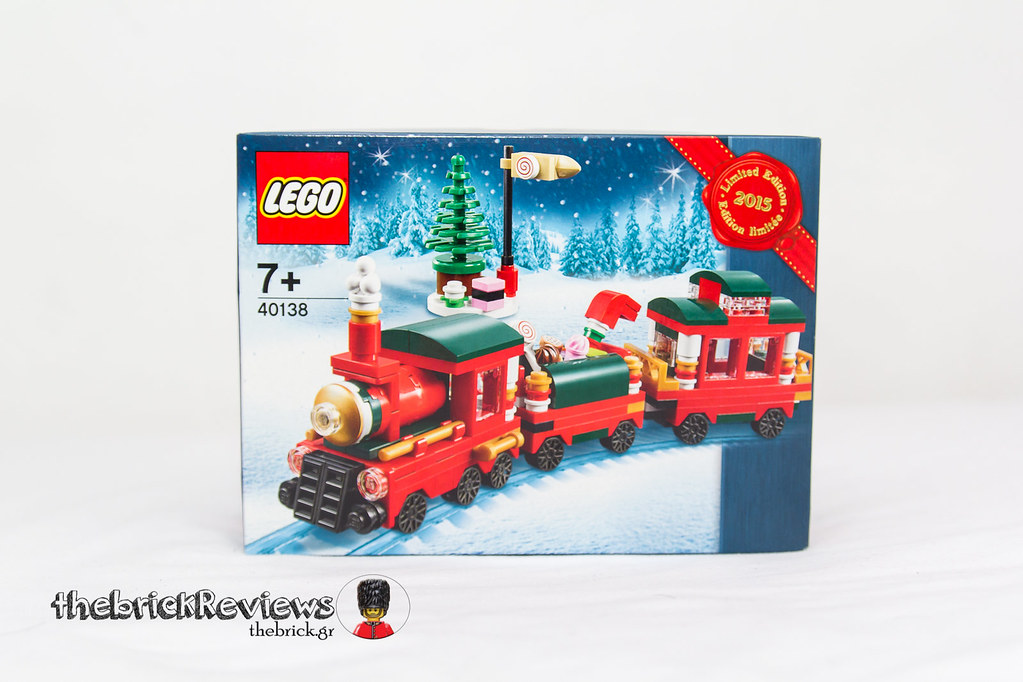 ThebrickReview: Christmas Train - 40138 - Limited Edition 2015 23636526691_255fa5916d_b