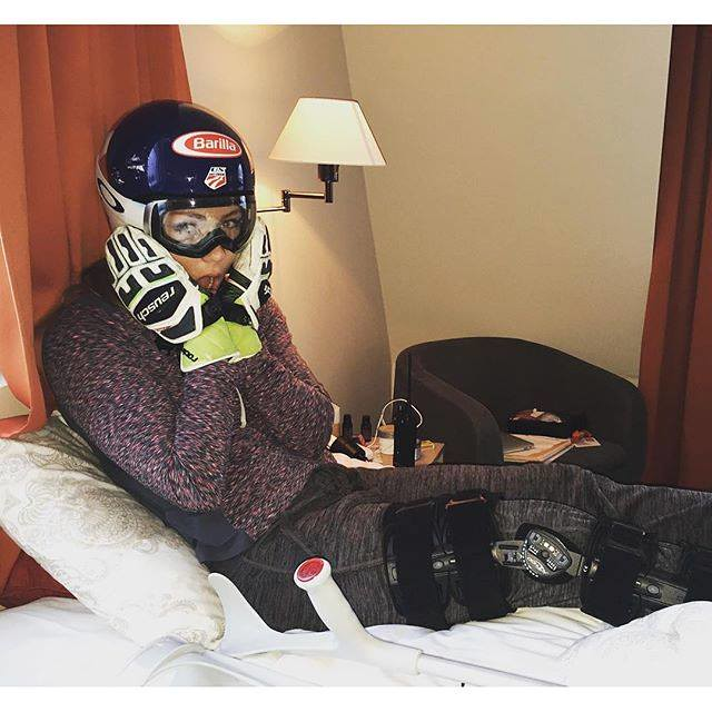 Mikaela Shiffrin awaits MRI