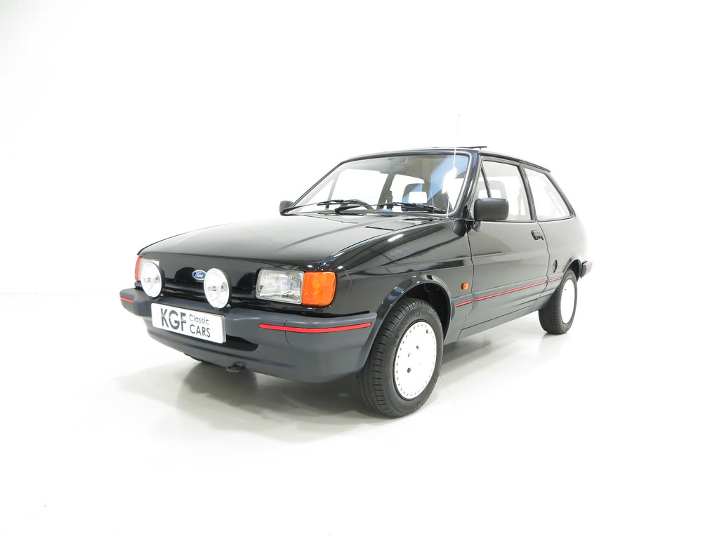 a very rare ford fiesta mk2 1 4s pe1 sold retro rides. Black Bedroom Furniture Sets. Home Design Ideas