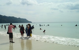 Image of Radhanagar Beach. bhakua rourkela