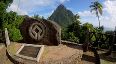 World Heritage Site Pitons Management Area