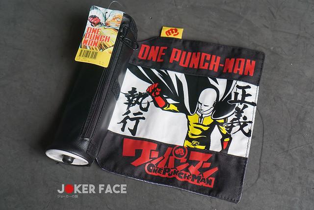 Hộp bút vải cuộn One Punch Man