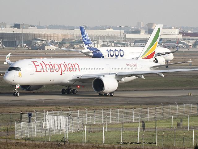 Ethiopian Airlines. Airbus A350-941.