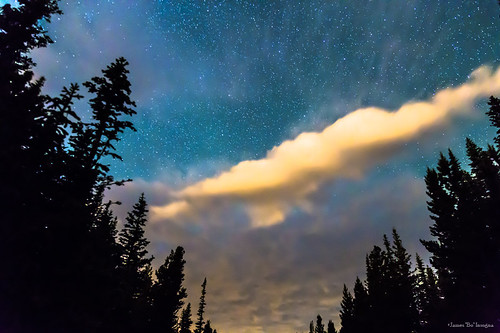 stars astrophotography astronomy night summertime summer seasons wilderness forest sky insogna colorado nature pinetrees clouds cloudscapes blue nederland unitedstates