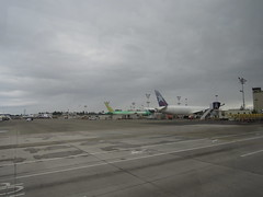 Planes on the PAE tarmac