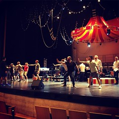 It's almost that time, y'all. Buncha moving parts to get ironed out, but we've only got a day and a half till #topsyturvy opens! #turtlecreekchorale #tcc #gaymenschorus #dallas