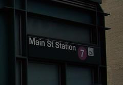 Main Street Station (7) - NYCT IRT Flushing Line