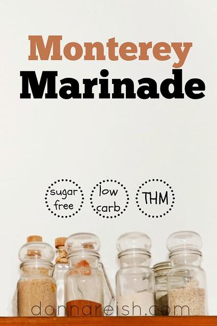[Sugar-Free] Monterey Marinade