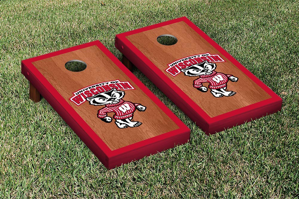 Wisconsin Badgers Rosewood Border