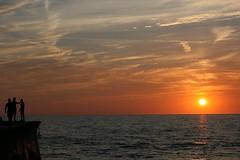Aberaeron sunset