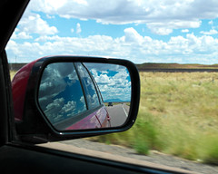 automobile, automotive exterior, automotive mirror, window, road trip, vehicle, rear-view mirror, glass,