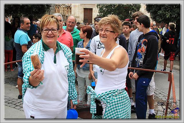 Briviesca en Fiestas 2.015 Primer encierro y chocolatada popular (13)
