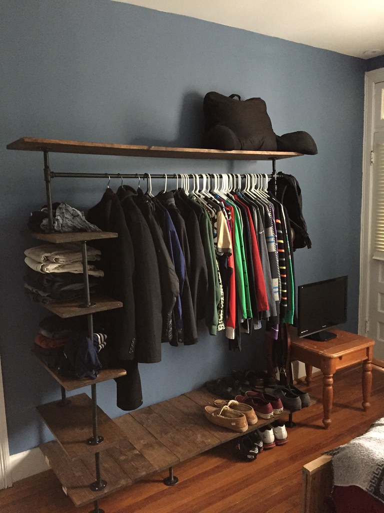 Bedroom Shelf For Clothes