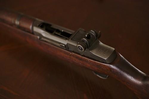 M1 Garand action