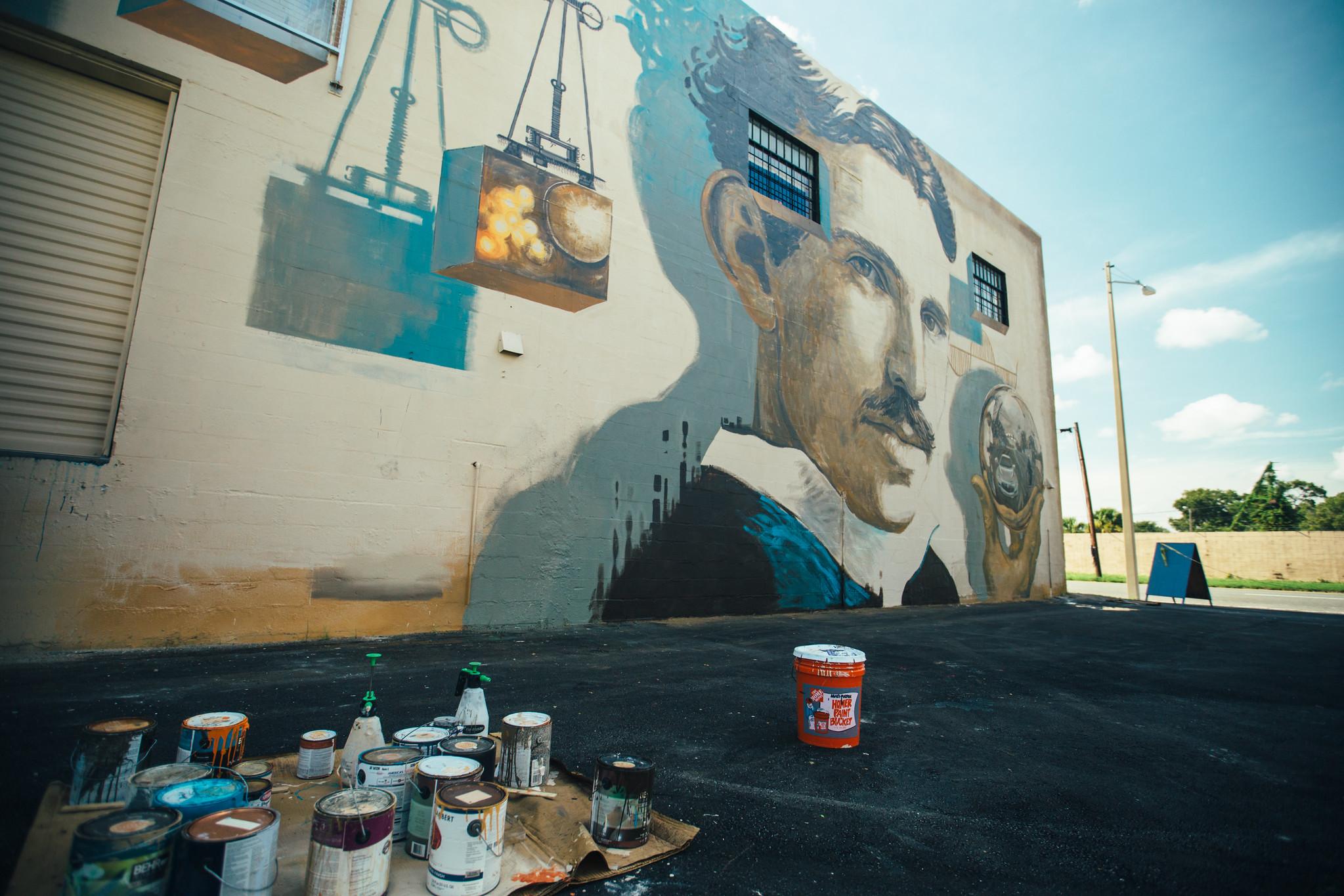 Shine St. Petersburg Mural Festival