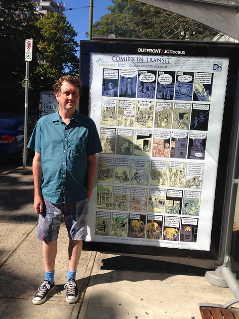 My transit comic and me