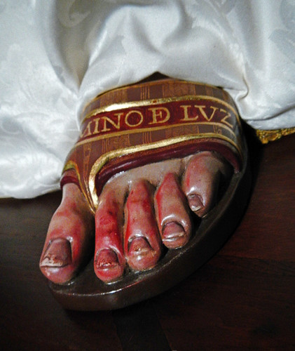 Vivieros, Spain: Bloody Feet of the Madonna