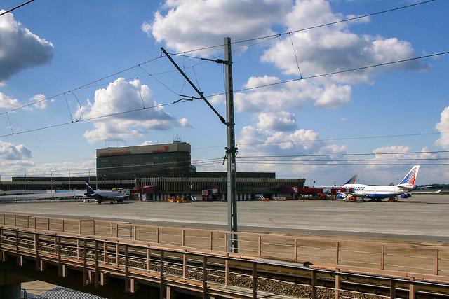 Sheremetyevo International Airport, Moscow モスクワ、シェレメチェボ国際空港