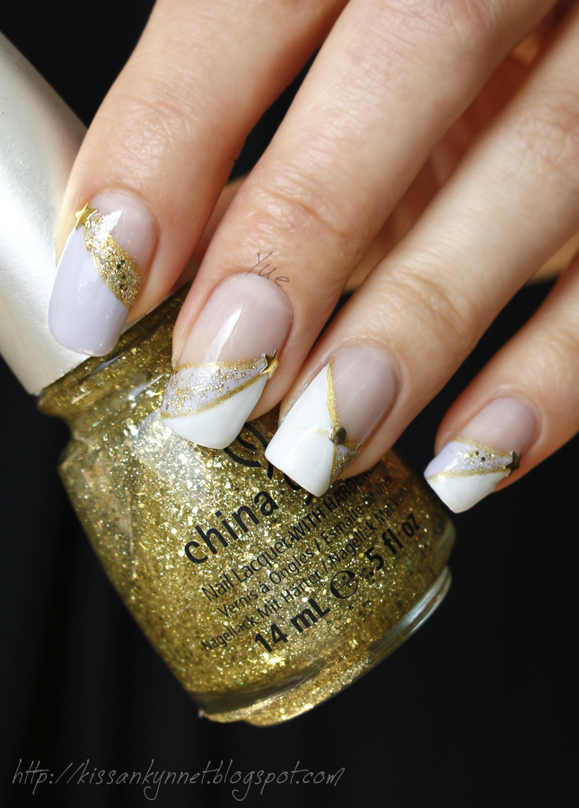star_french_manicure