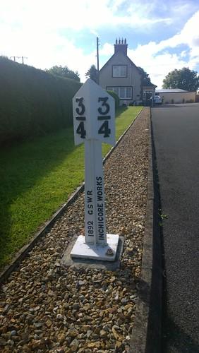 Irish Railway Marker