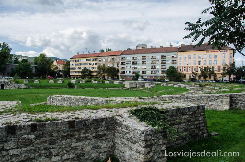 ruinas romanas en Óbuda Budapest
