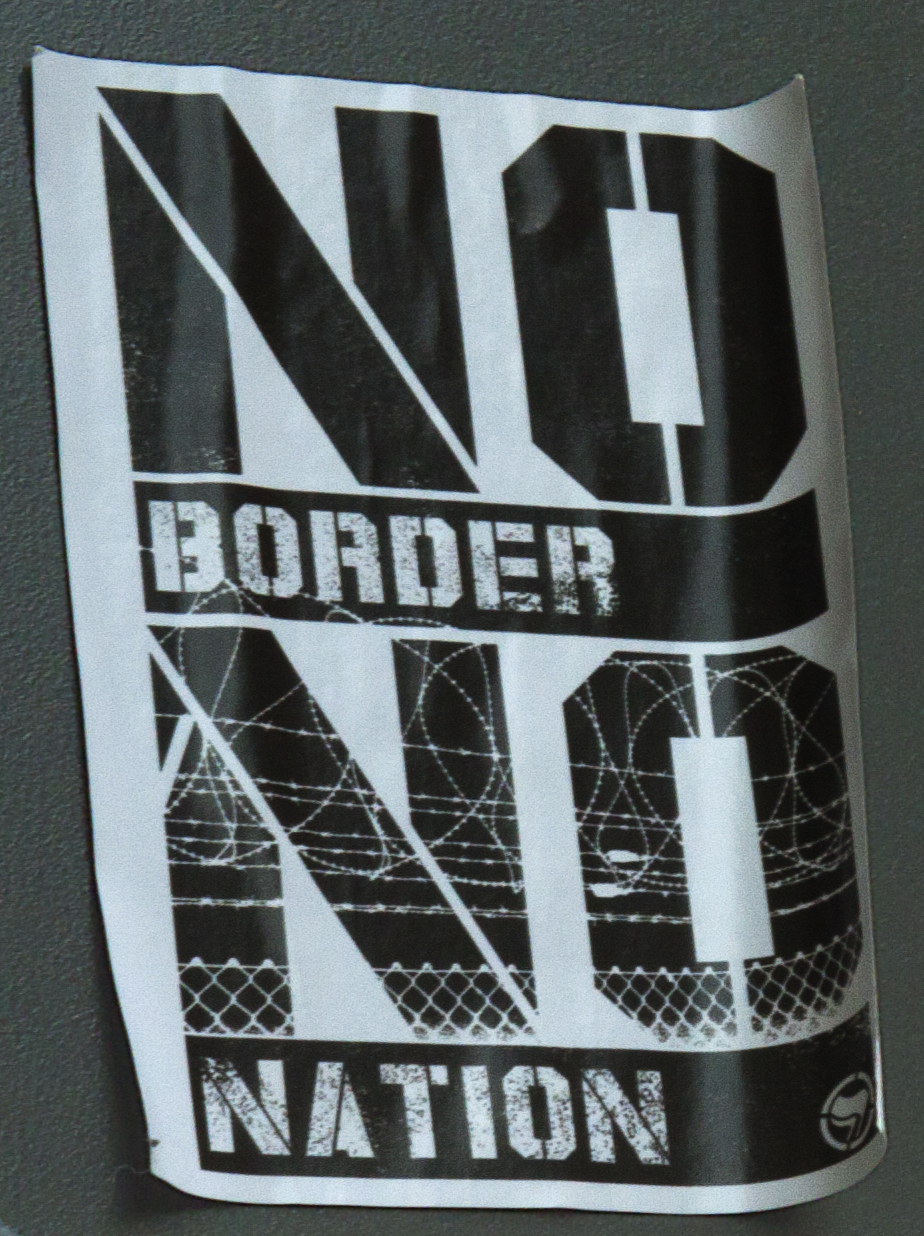 NO BORDER NO NATION-Dresden (detail)