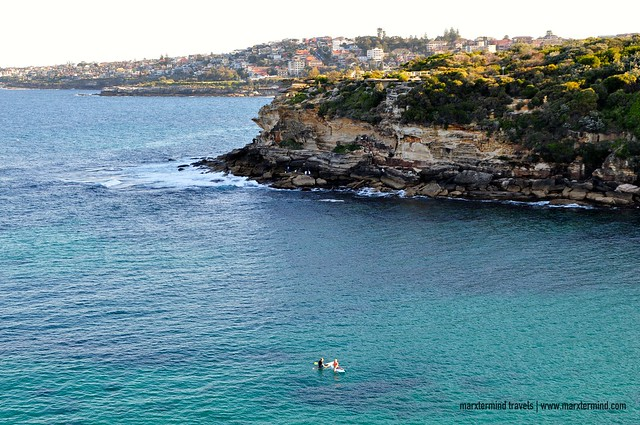 Surfers Taking a Rest at Gordon's Bay Sydney