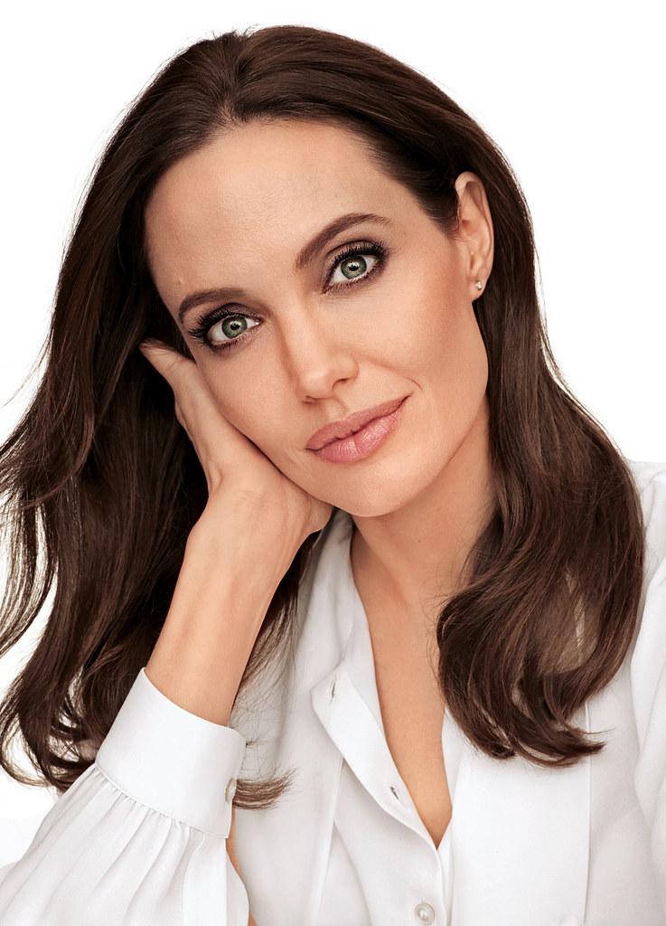 Анджелина Джоли — Фотосессия для «People» 2014 – 2