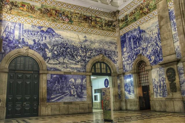 São Bento Train Station, Porto