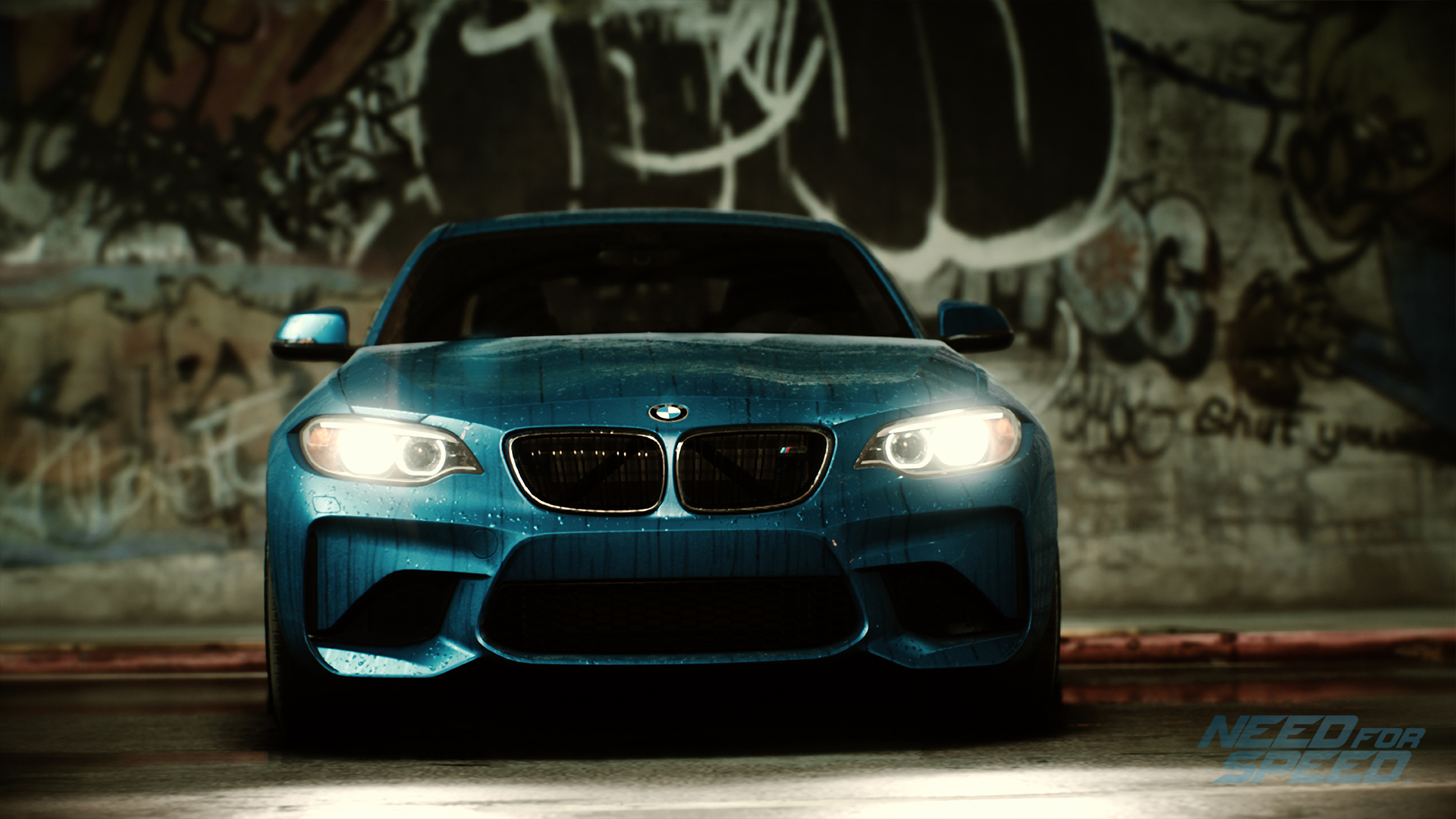la nouvelle bande annonce de need for speed d voile le coup bmw m2. Black Bedroom Furniture Sets. Home Design Ideas