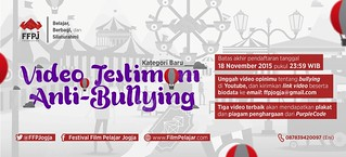 Poster Kompetisi Video Antibullying FFPJ 2015