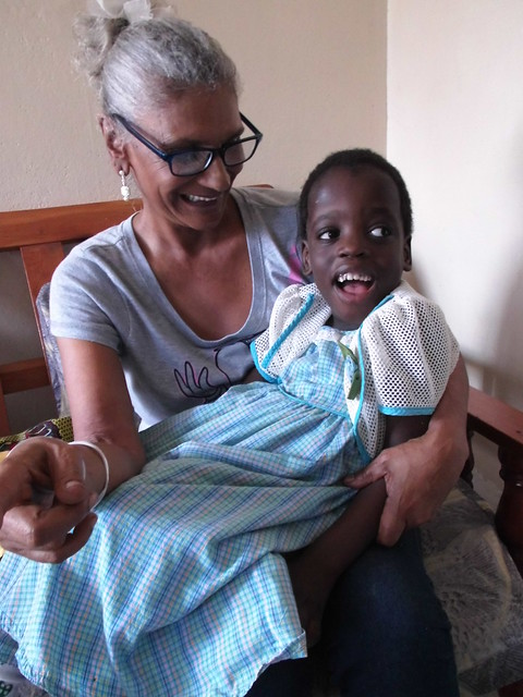 Waseema had a very strong bond with Michelle, whatever she done Michelle has stopped crying during her painful physiotherapy treatment, a miracle for sure