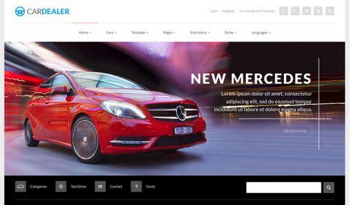 JoomlaMonster JM Car Dealer v1.01 - Joomla Template
